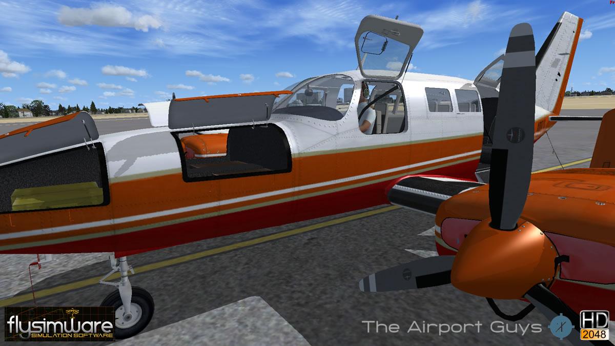 Flysimware's Cessna 402C Businessliner